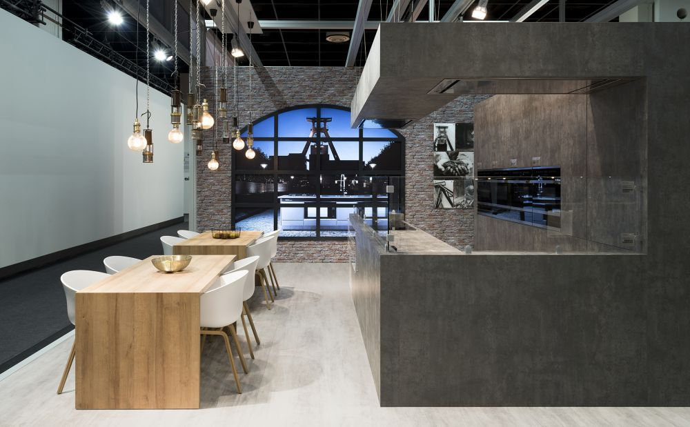 bkp_Markenarchitektur_Messestand_Kueppersbusch-Showkitchen1